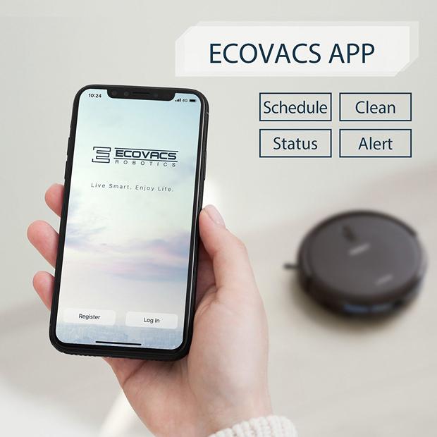Ecovacs mobile app