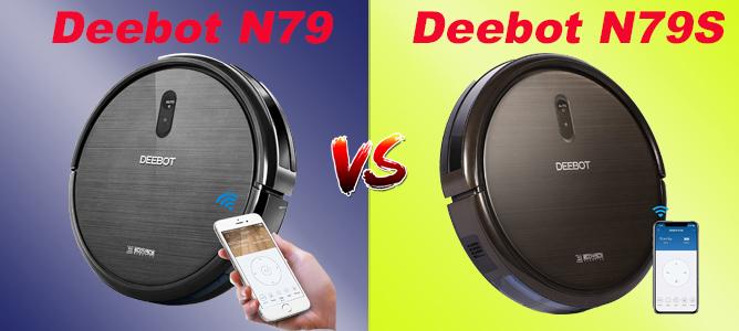 Deebot N79 vs N79S