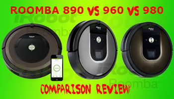 Roomba 890 vs 960 vs 980 comparison Review