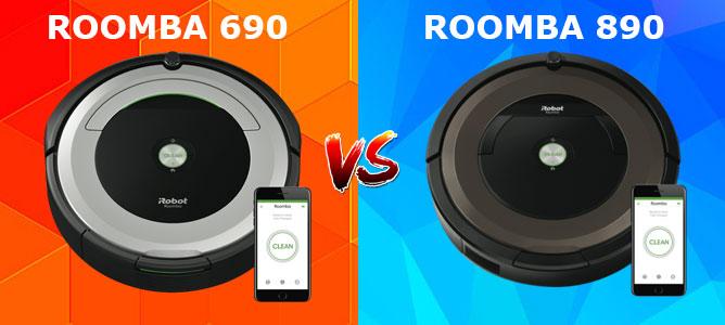 Roomba 690 vs 890