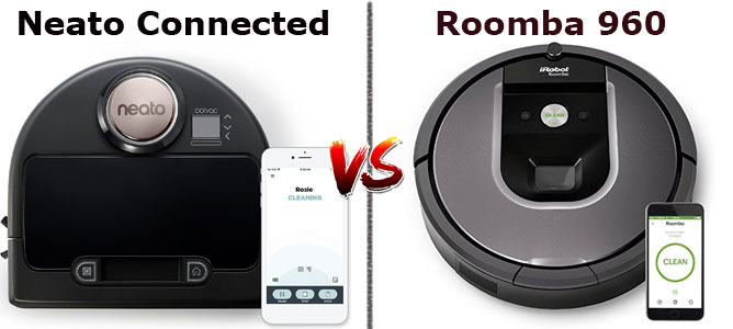 Roomba 960 vs Botvac Connected