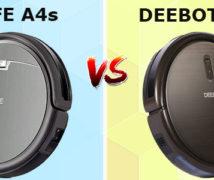 ILIFE A4s vs. DEEBOT N79s