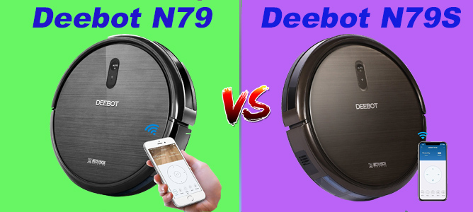 ECOVACS Deebot N79 vs. N79s