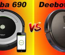 Roomba 690 vs Deebot N79s