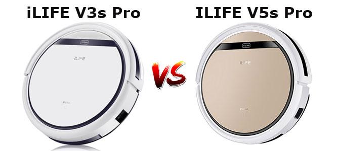 iLIFE V3s Pro vs. V5s Pro