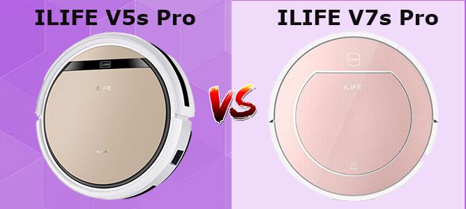 iLIFE V5s Pro vs. V7s Pro