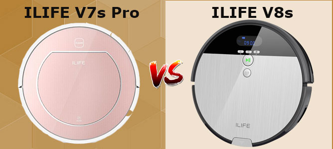 iLIFE V7s vs. V8s