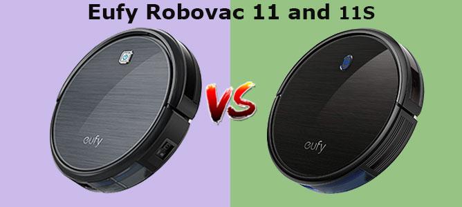 Eufy Robovac 11 vs 11s