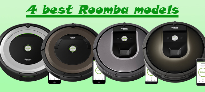 Roomba models to compare