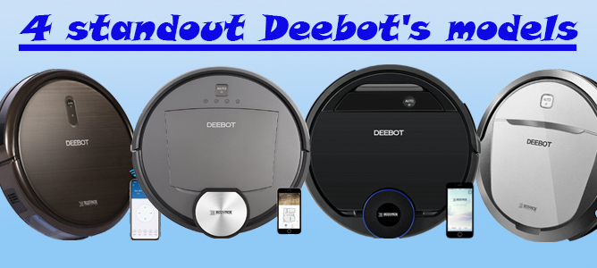 4 standout Deebots models