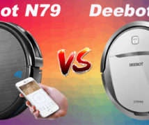Ecovacs Deebot N79 vs M80