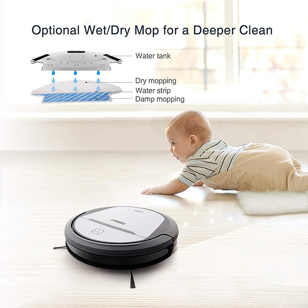 Deebot M80 has a mopping function