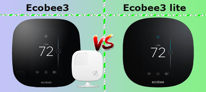 How do the Ecobee3 and Ecobee3 lite compare and perform?