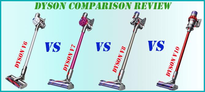 review 4 dyson cordless vacuum cleaners v6 v7 v8 and v10. Black Bedroom Furniture Sets. Home Design Ideas