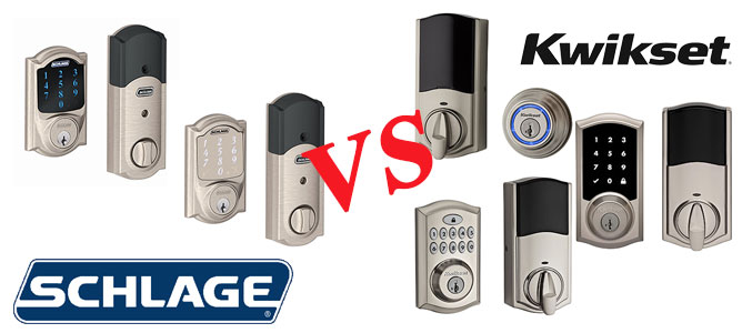 Schlage vs Kwikset Smart Locks