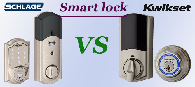 Smart lock Schlage vs Kwikset