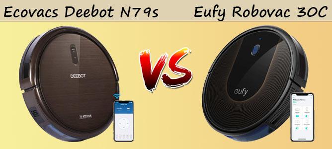 Ecovacs Deebot N79s vs Eufy Robovac 30C Boostiq