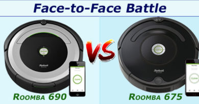 Face to face battle roomba 690 vs 675