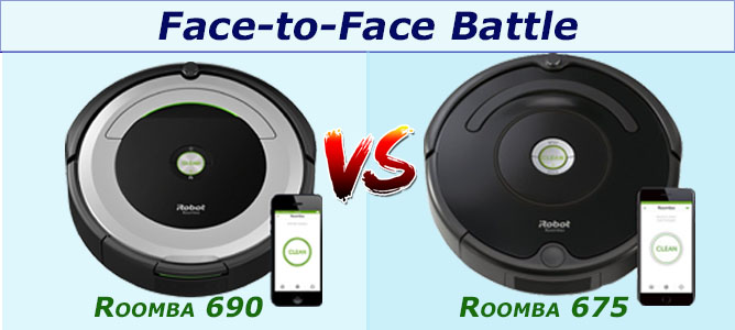 Roomba 675 Vs 690 Best Full Side By Side Comparison