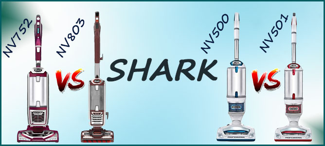 Shark nv752 vs nv500 vs nv501 vs nv803