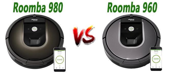 Roomba 980 vs Roomba 960