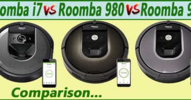Roomba i7 vs 980 vs 960