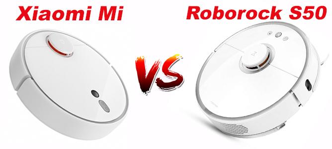 Xiaomi Mi vs. Roborock S50