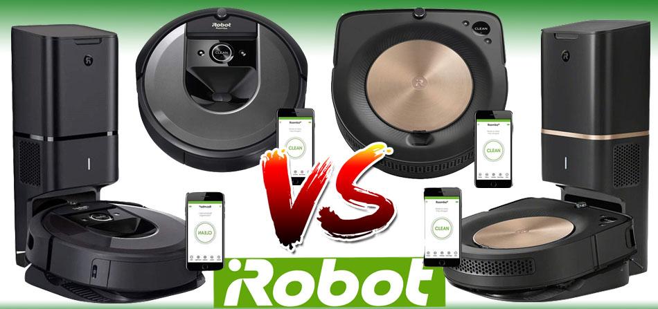 Roomba s9+ vs Roomba s9 vs Roomba i7+ vs Roomba i7