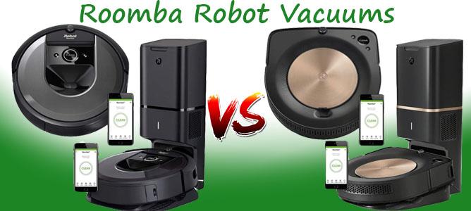 Roomba s9+ vs. Roomba s9 vs. Roomba i7+ vs. Roomba i7 Robot Vacuums