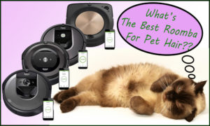 What's The Best Roomba For Pet Hair?