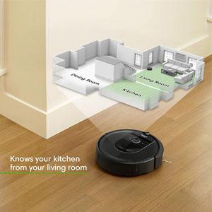 Navigation Roomba i7