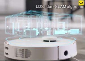 360 S7 Laser Navigation