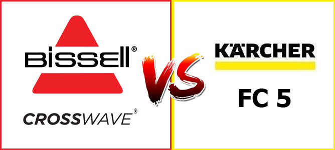 Karcher FC5 vs Bissell CrossWave 2