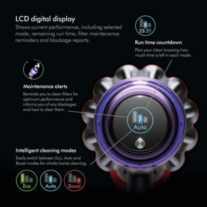 Battery and Runtime Dyson V11 Torque Drive