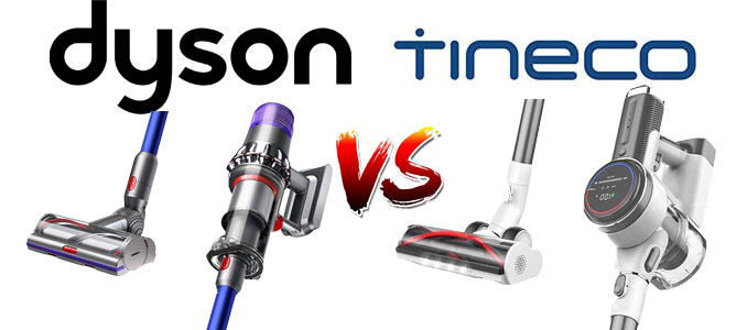 Dyson vs Tineco