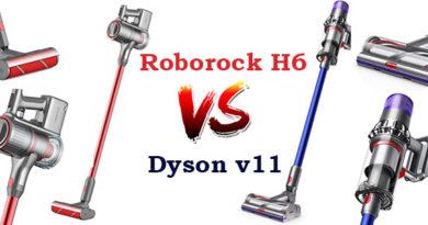 Roborock-h6 vs Dyson-v11