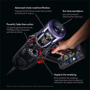 Suction Power Dyson V11