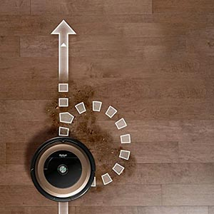 dirt detection roomba 890