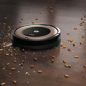 dirt detection roomba 891