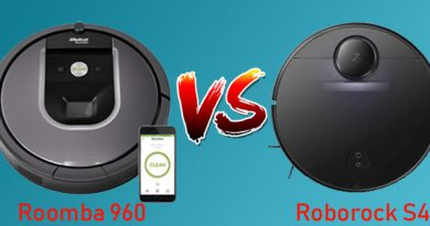 Roborock S4 vs Roomba 960