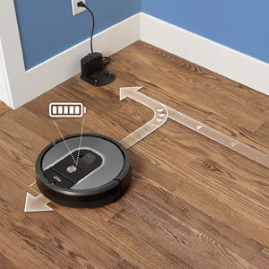 Suction Power roomba 960