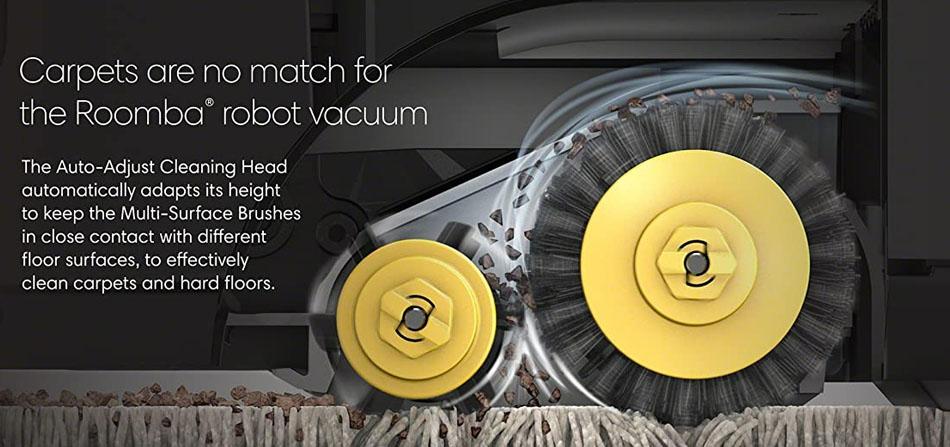 Medium- Pile Carpet for Roomba 614
