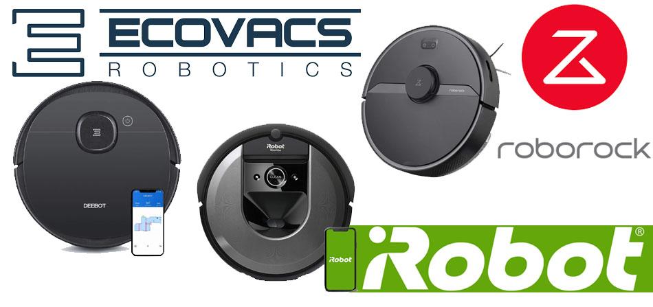 Roborock S6 Pure vs Roomba i7 vs Deebot Ozmo 950