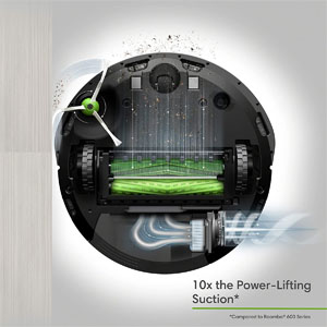 Roomba i7 suction power