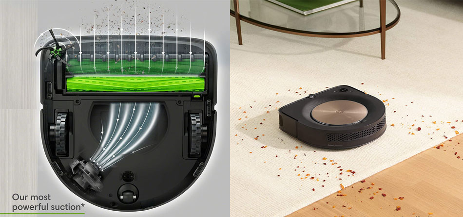 Suction Power Roomba s9
