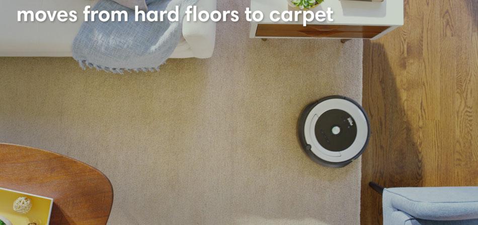 roomba 600 series hard floor