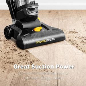 Eureka PowerSpeed Suction Power