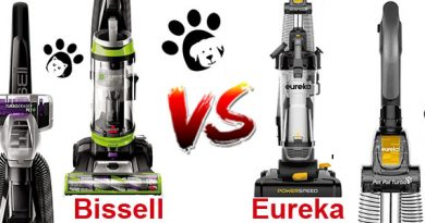 Eureka vs Bissell upright vacuum