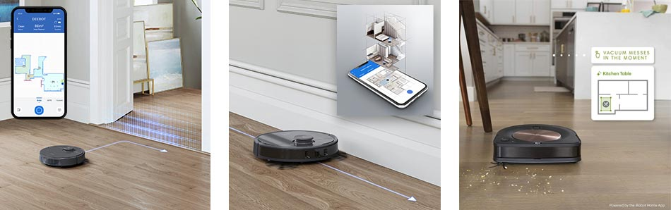 Connectivity Roomba S9 and Deebot T8