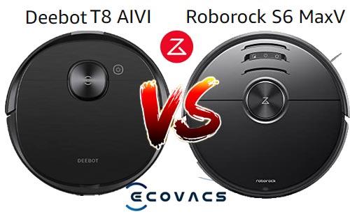 Deebot Ozmo T8 AIVI vs Roborock S6 MaxV